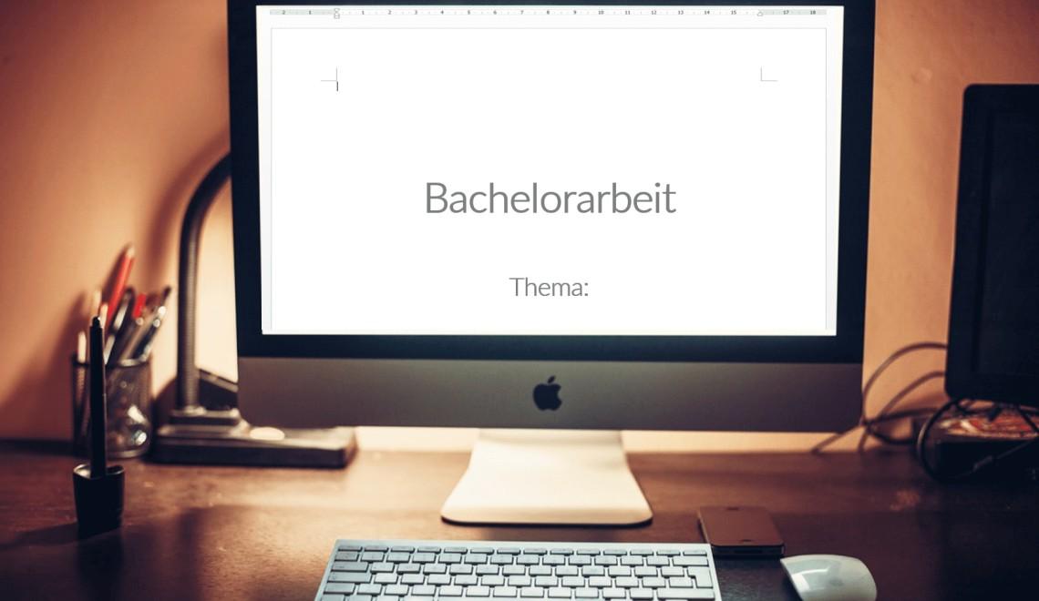 Das Deckblatt der Bachelorarbeit (+Beispiel!)