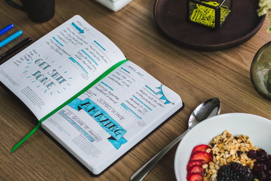 Probiere den Trend aus den USA und gestalte kreativ Dein eigenes Bullet Journal!