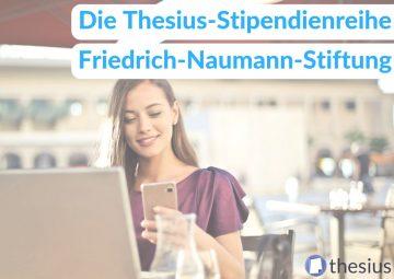 Friedrich-Naumann-Stiftung Stipendium