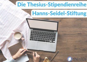 Hanns-Seidel-Stiftung Stipendium