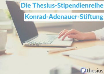 Konrad Adenauer Stiftung Stipendium