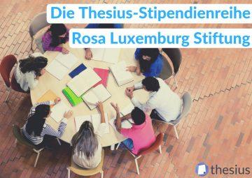 Rosa Luxemburg Stiftung Stipendium