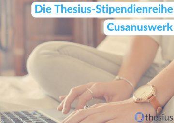 Cusanuswerk Stipendium