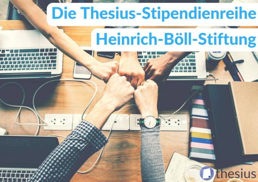 Heinrich Böll Stiftung Stipendium