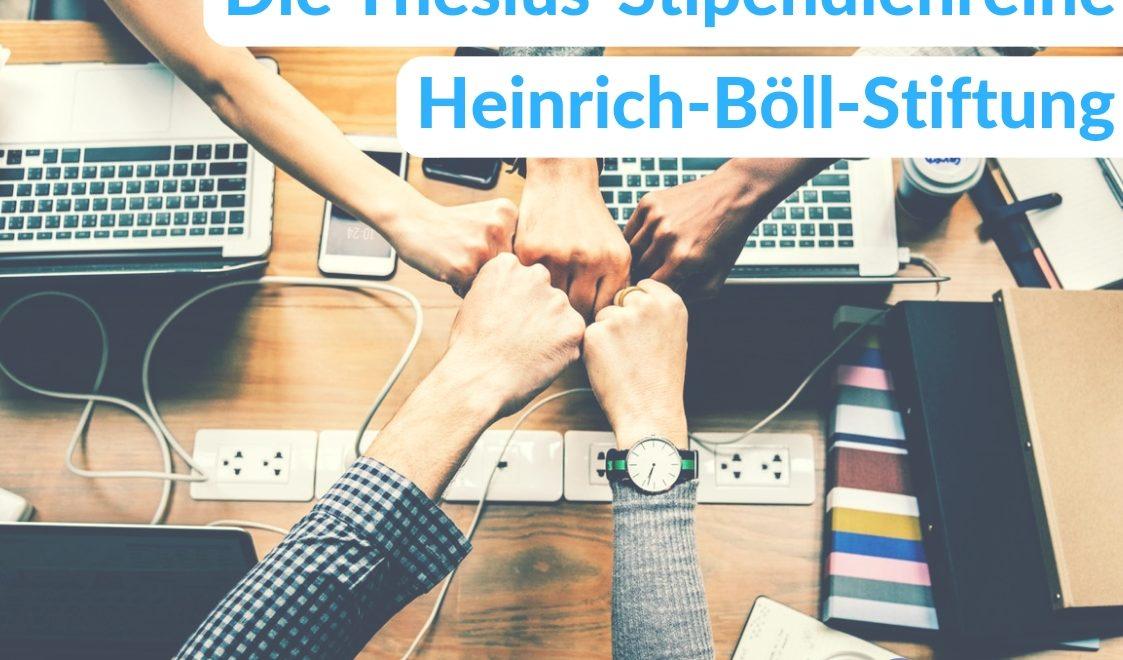 Ein Stipendium bei der Heinrich-Böll-Stiftung