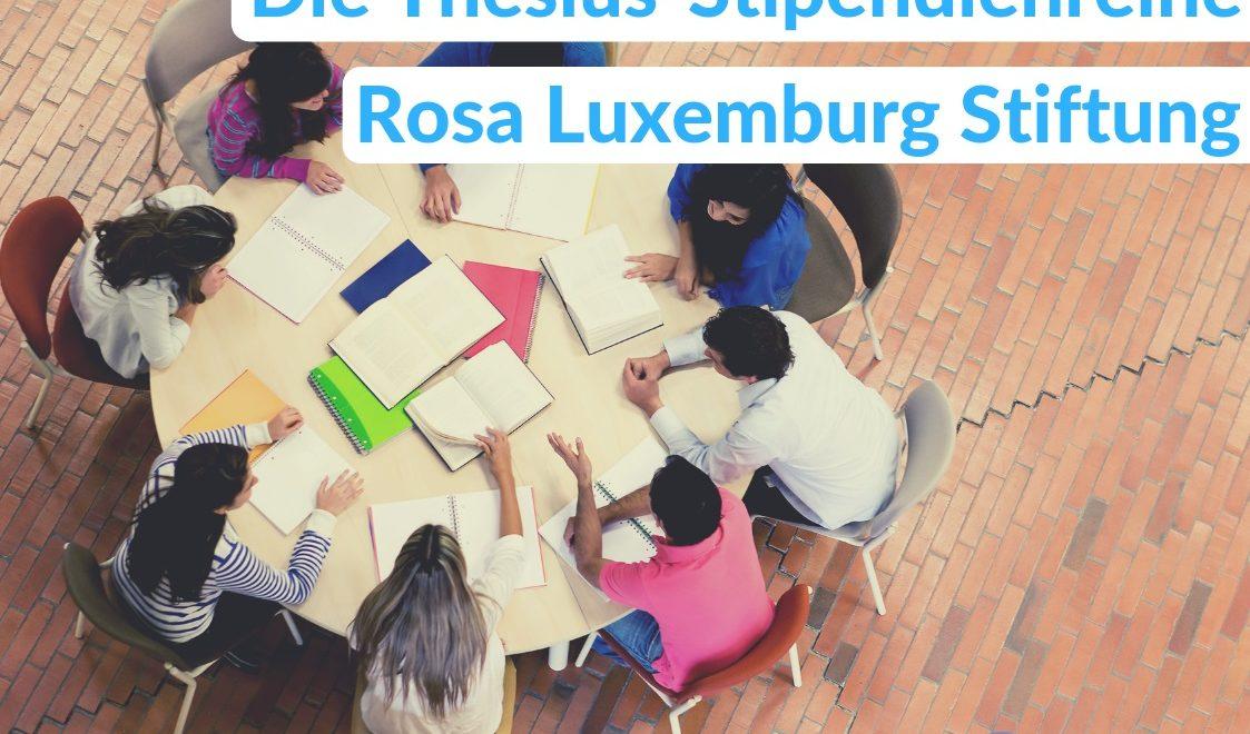 Ein Stipendium bei der Rosa Luxemburg Stiftung