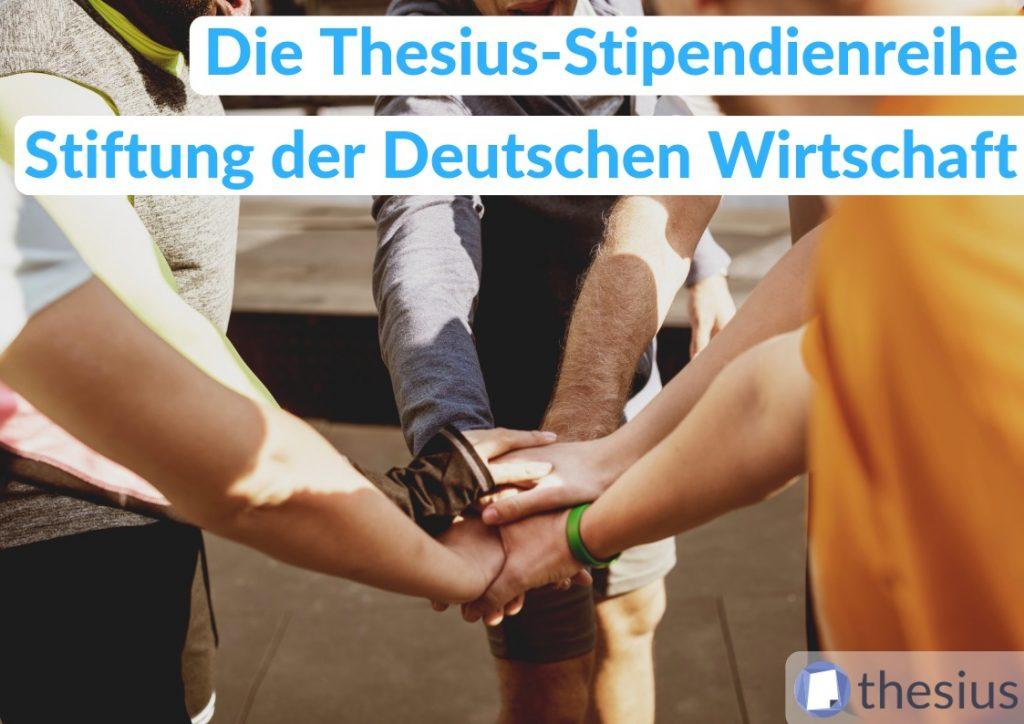Stiftung der Deutschen Wirtschaft Stipendium