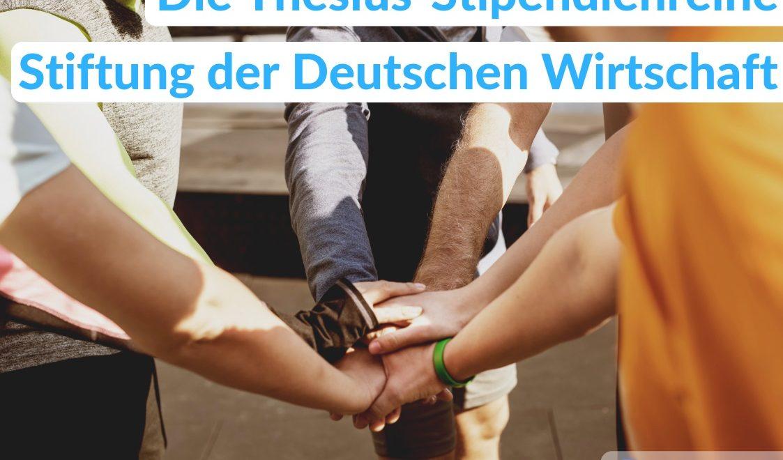 Ein Stipendium bei der Stiftung der Deutschen Wirtschaft: Das Studienförderwerk Klaus Murmann