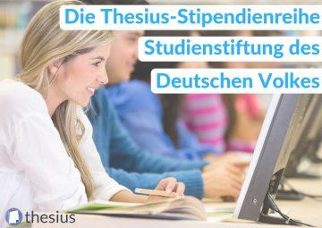 Studienstiftung des Deutschen Volkes Stipendium
