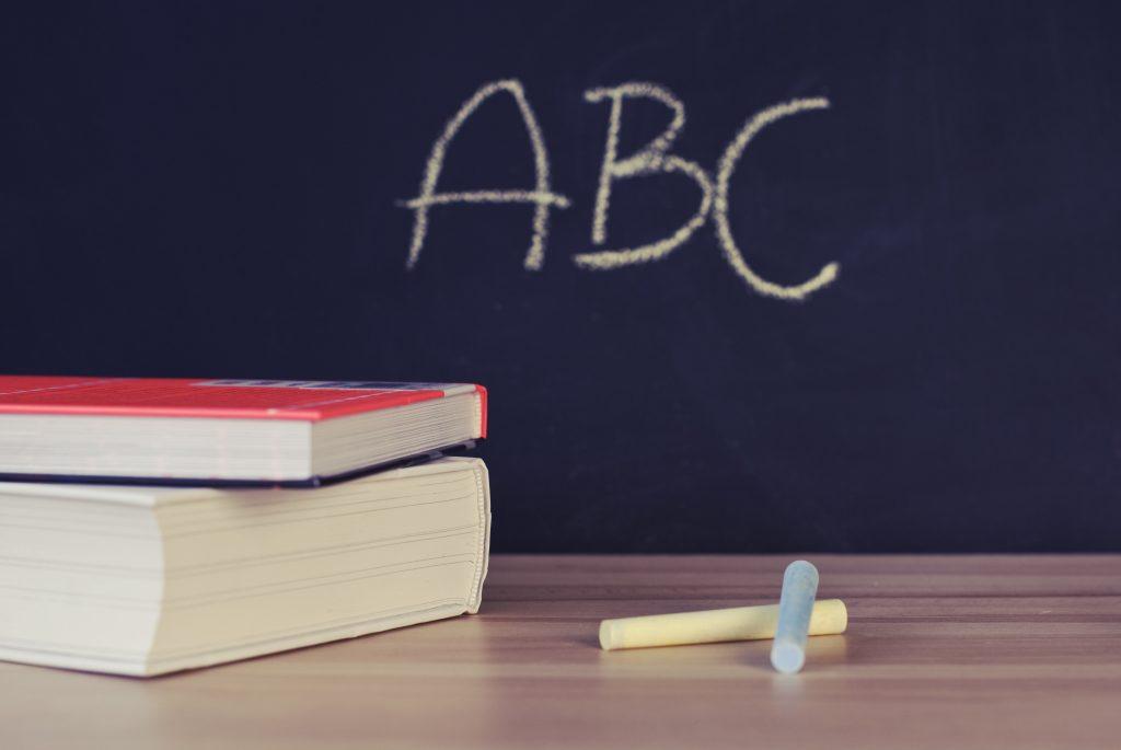 ABC-Kreidetafel