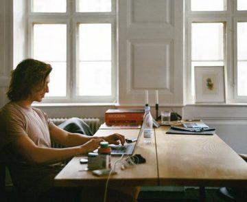 Arbeiten im Home Office.
